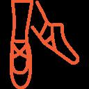 icone cours de danse à l'académie de nivelles
