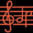 icone cours de musique à l'académie de musique
